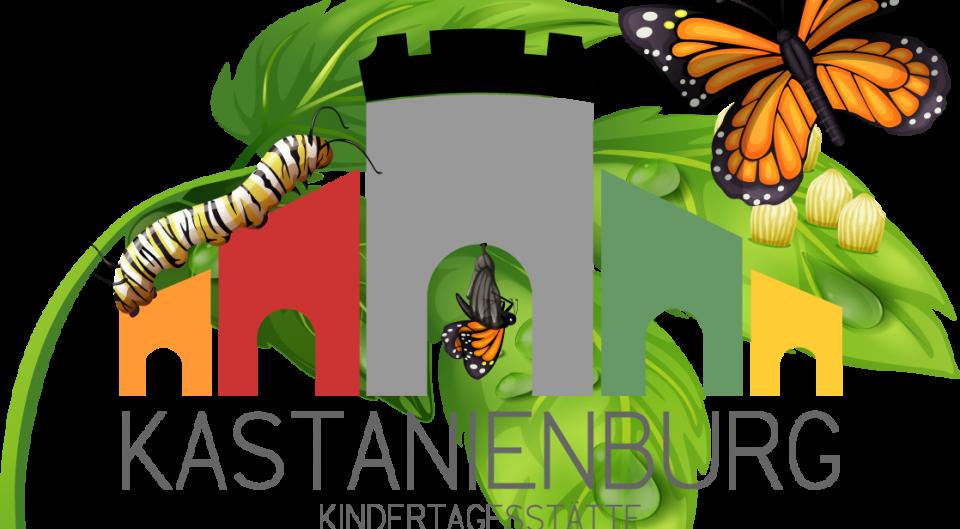 Logo Kastanienburg schmetterling